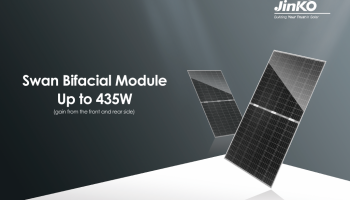 "JinkoSolar Launches Bifacial Module ""Swan"" in PV Japan – SolarPV Expert"